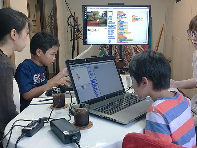 [終了] 2018.08.26 (日) 11:00~12:00 子ども向け プログラミング体験